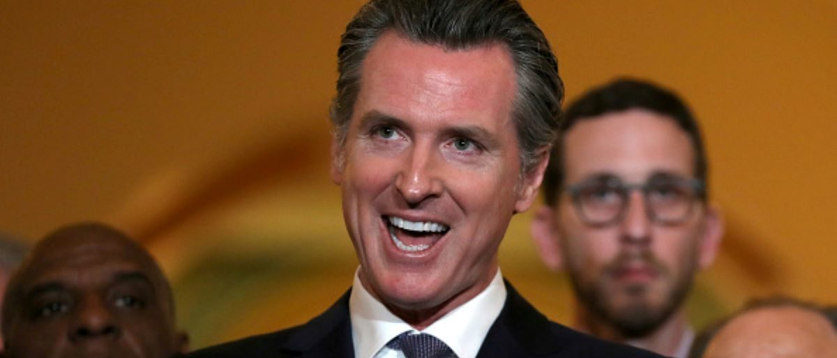 California Gov. Gavin Newsom speaks during a news conference at the California State Capitol on March 13, 2019 in Sacramento, California. (Photo by Justin Sullivan/Getty Images)