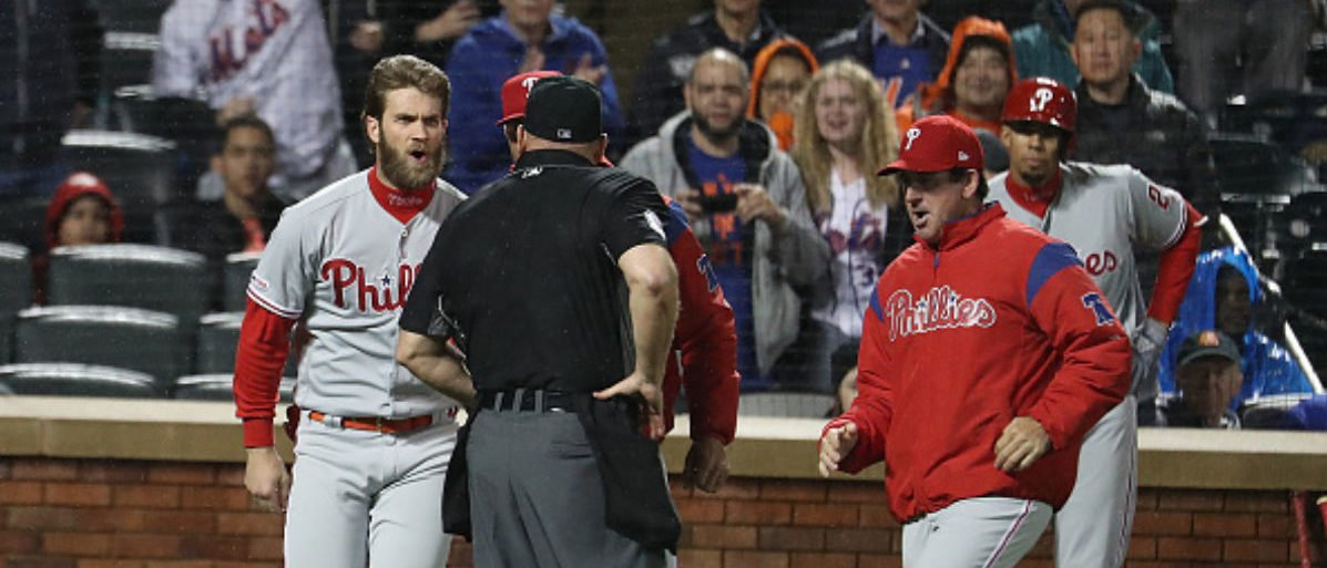 Bryce Harper Throws Temper Tantrum, Gets Ejected In loss To Mets