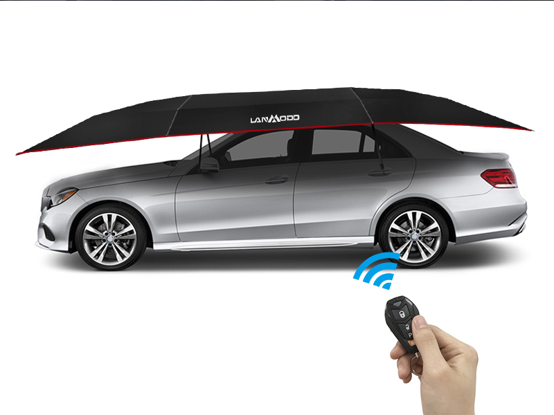 The Lanmodo Pro Four Season Automatic Car tent is built for all four seasons and offers a variety of cool features