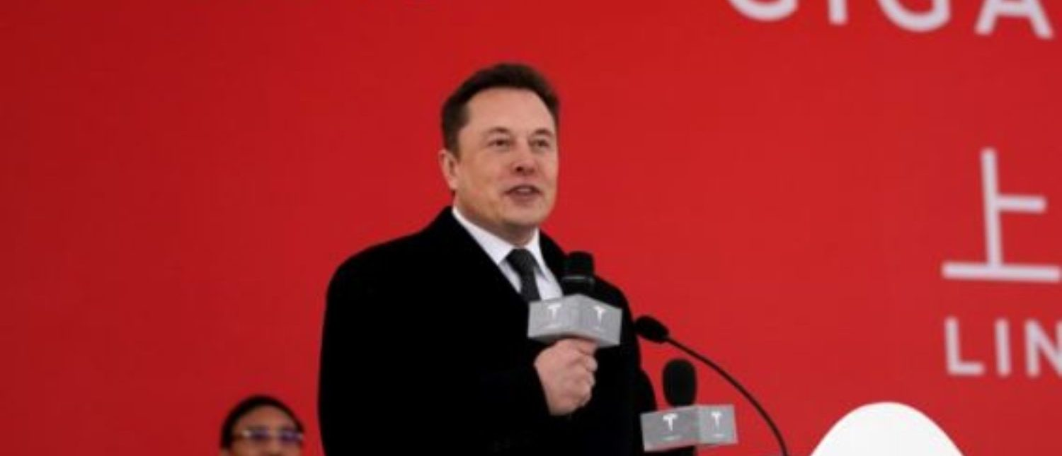 FILE PHOTO: FILE PHOTO: Tesla CEO Elon Musk attends the Tesla Shanghai Gigafactory groundbreaking ceremony in Shanghai, China January 7, 2019. REUTERS/Aly Song//File Photo