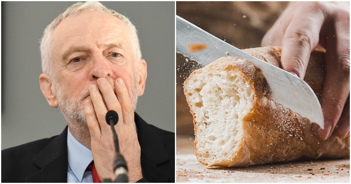 UK Labour Party Commemorates Passover With A Loaf Of Leavened Bread