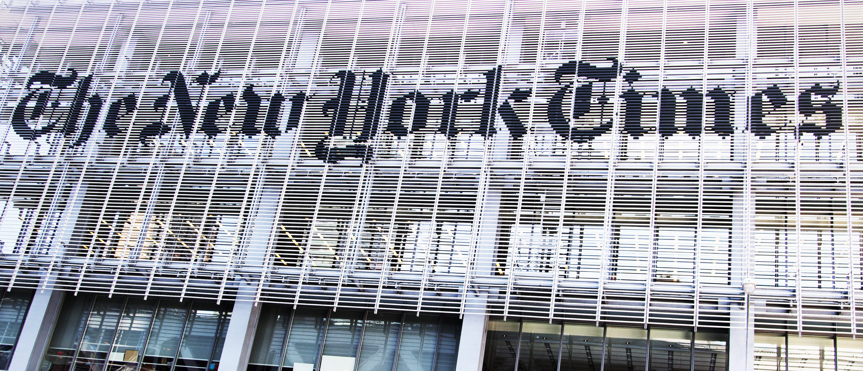 The New York Times building on June 3, 2012. (Erika Cross/Shutterstock)