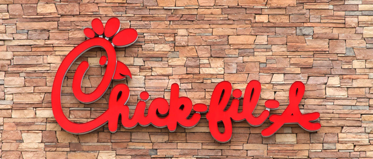 Chick-fil-A is an American fast food restaurant chain headquartered in the city of College Park, Georgia, specializing in chicken sandwiches (Sheila Fitzgerald / Shutterstock.com)