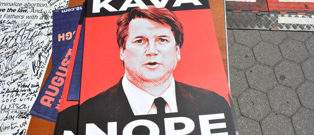 Students Protest Kavanaugh at GMU Shutterstock Cory Seamer