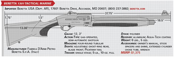 Gun Test: Beretta 1301 Tactical Marine   The Daily Caller