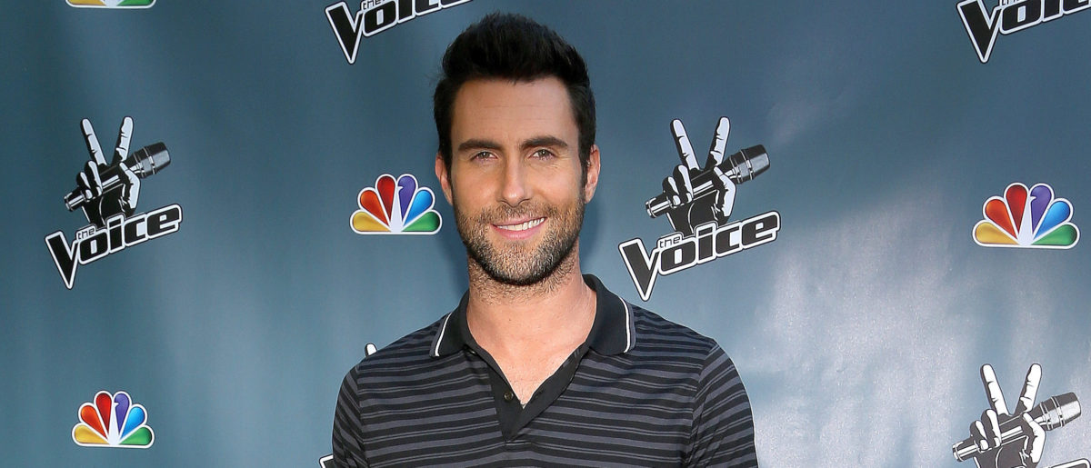 """The Voice's Adam Levine attends the NBCUniversal's """"The Voice"""" Press Junket and cocktail reception on August 12, 2012 in Los Angeles, California. (Photo by Christopher Polk/Getty Images for NBCUniversal)"""