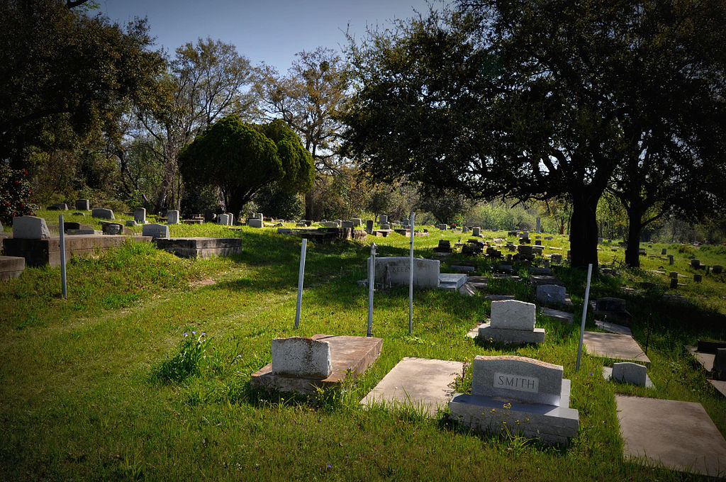 This photo from March 20, 2011, shows the historic Africatown cemetery. Wikimedia Commons author Leigh T Harrell