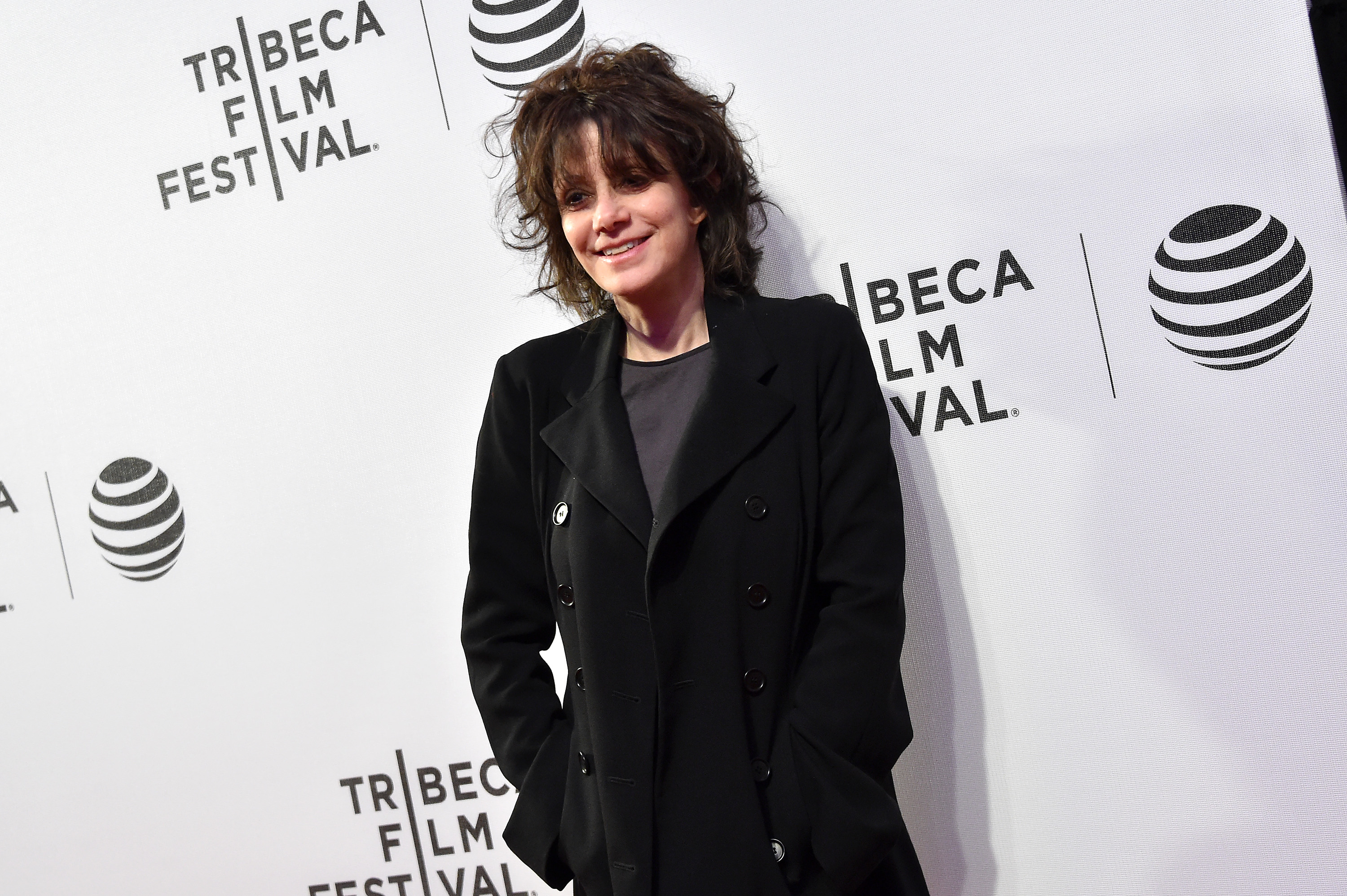 "Director Amy Heckerling attends the ""Elvis & Nixon"" Premiere during the 2016 Tribeca Film Festival at BMCC John Zuccotti Theater on April 18, 2016 in New York City. (Photo by Mike Coppola/Getty Images for Tribeca Film Festival)"