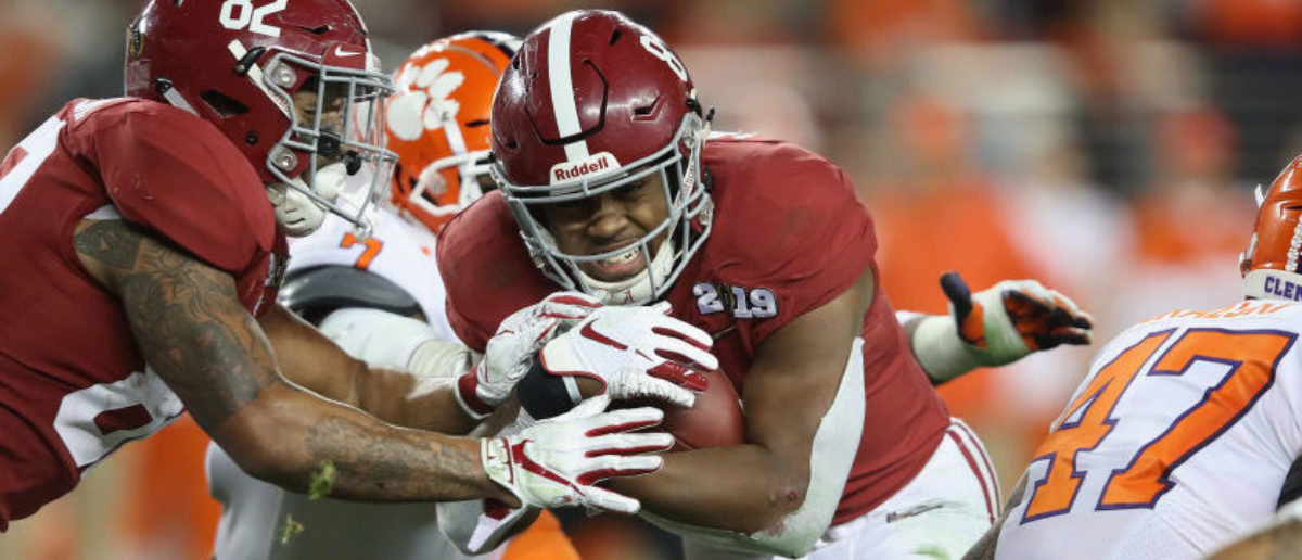 Athlon Sports Projects Alabama As The Top College Football