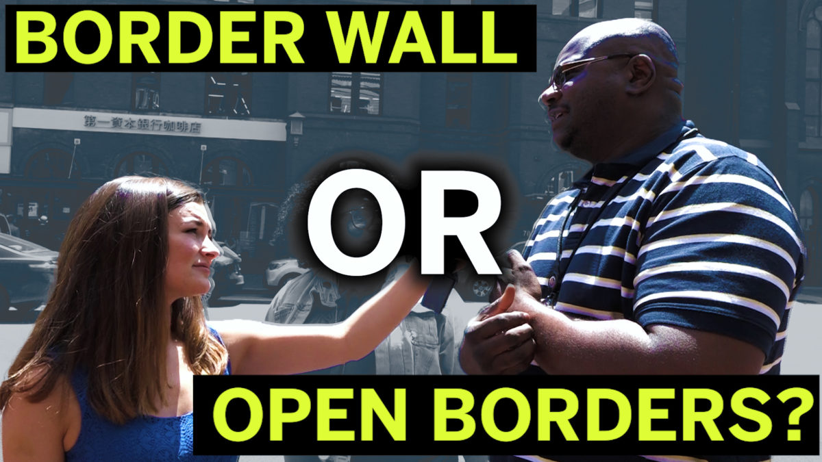 A Border Wall Or Open Borders? This Is What People Had To Say