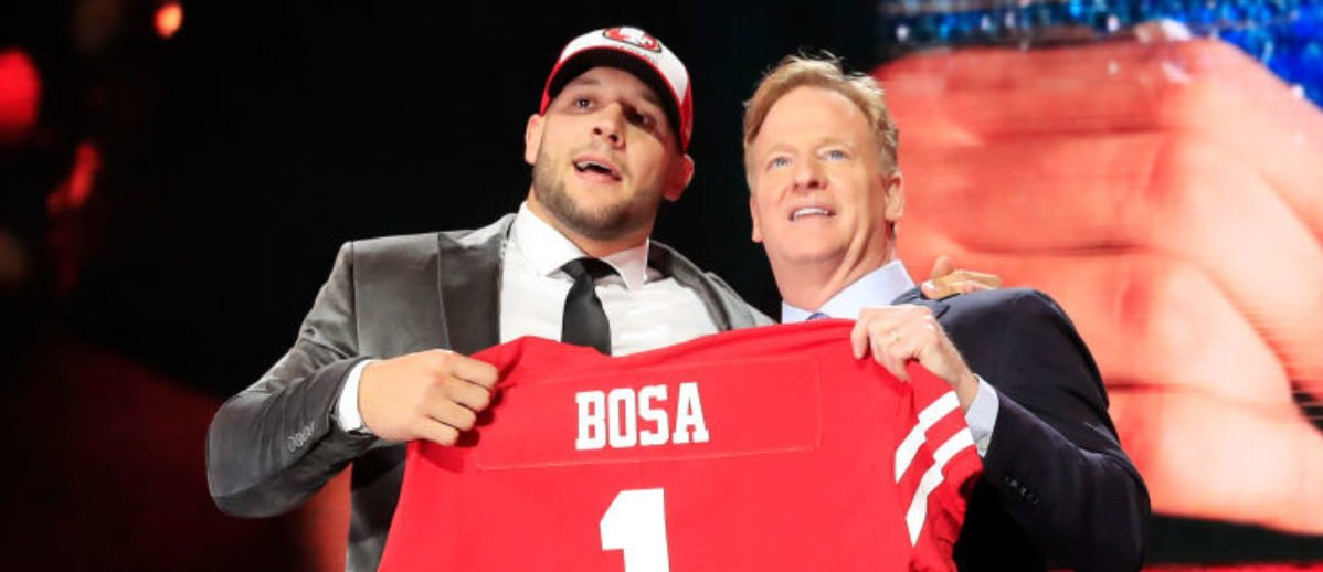 49ers Say Nick Bosa's Old Tweets Didn't Impact The Team's