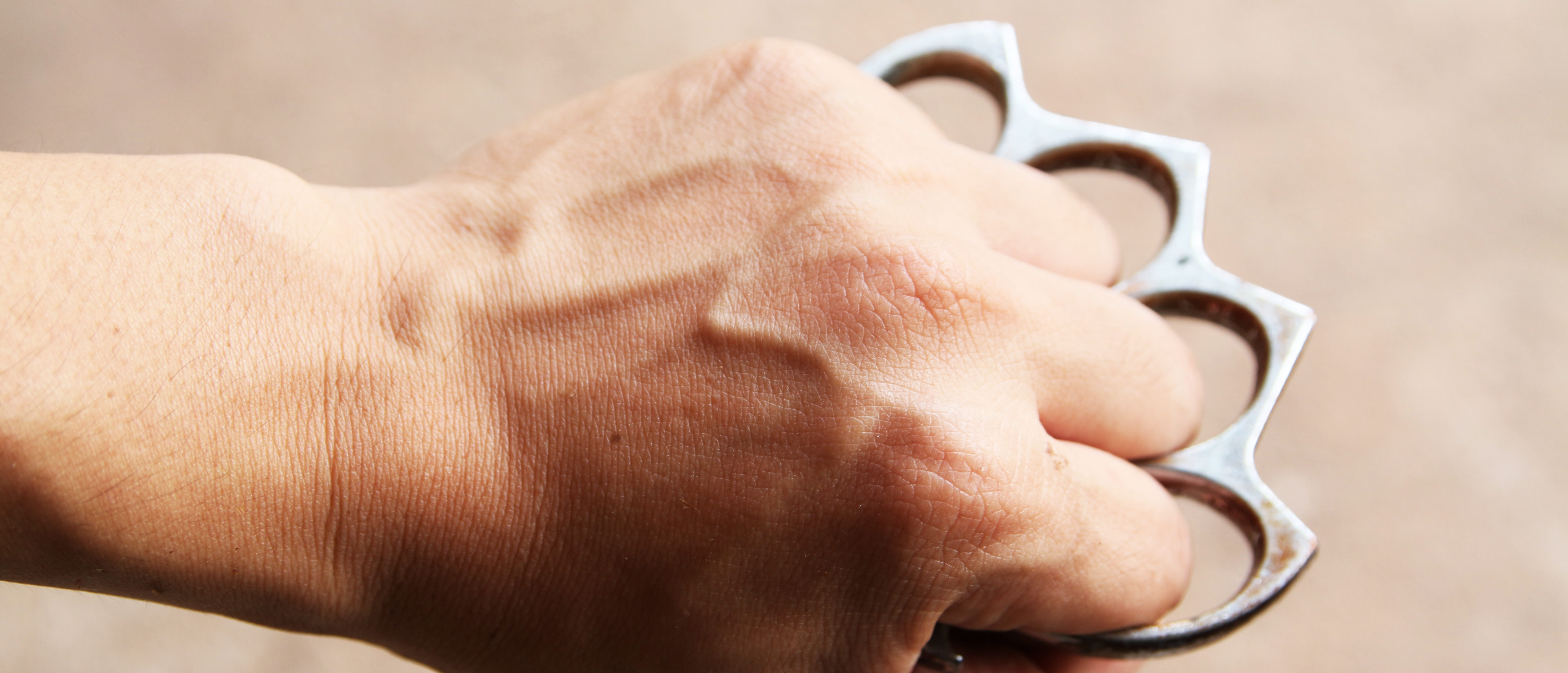 Texas Self-defense Bill Legalizes Carrying Brass Knuckles in Public. Photo by Shutterstock.