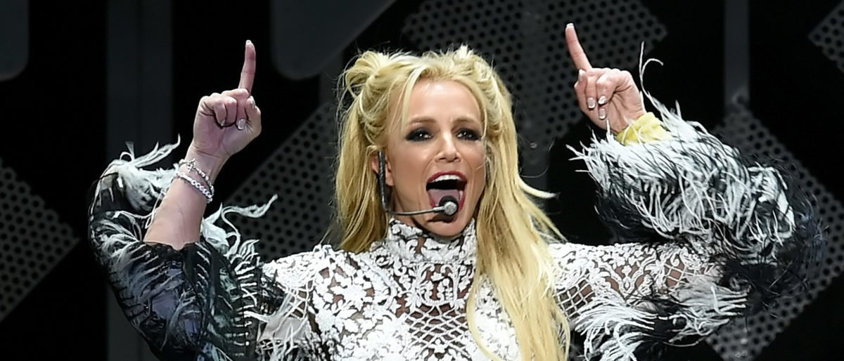 Singer Britney Spears performs onstage during 102.7 KIIS FM's Jingle Ball 2016 presented by Capital One at Staples Center on December 2, 2016 in Los Angeles, California. (Photo by Kevin Winter/Getty Images for iHeartMedia)