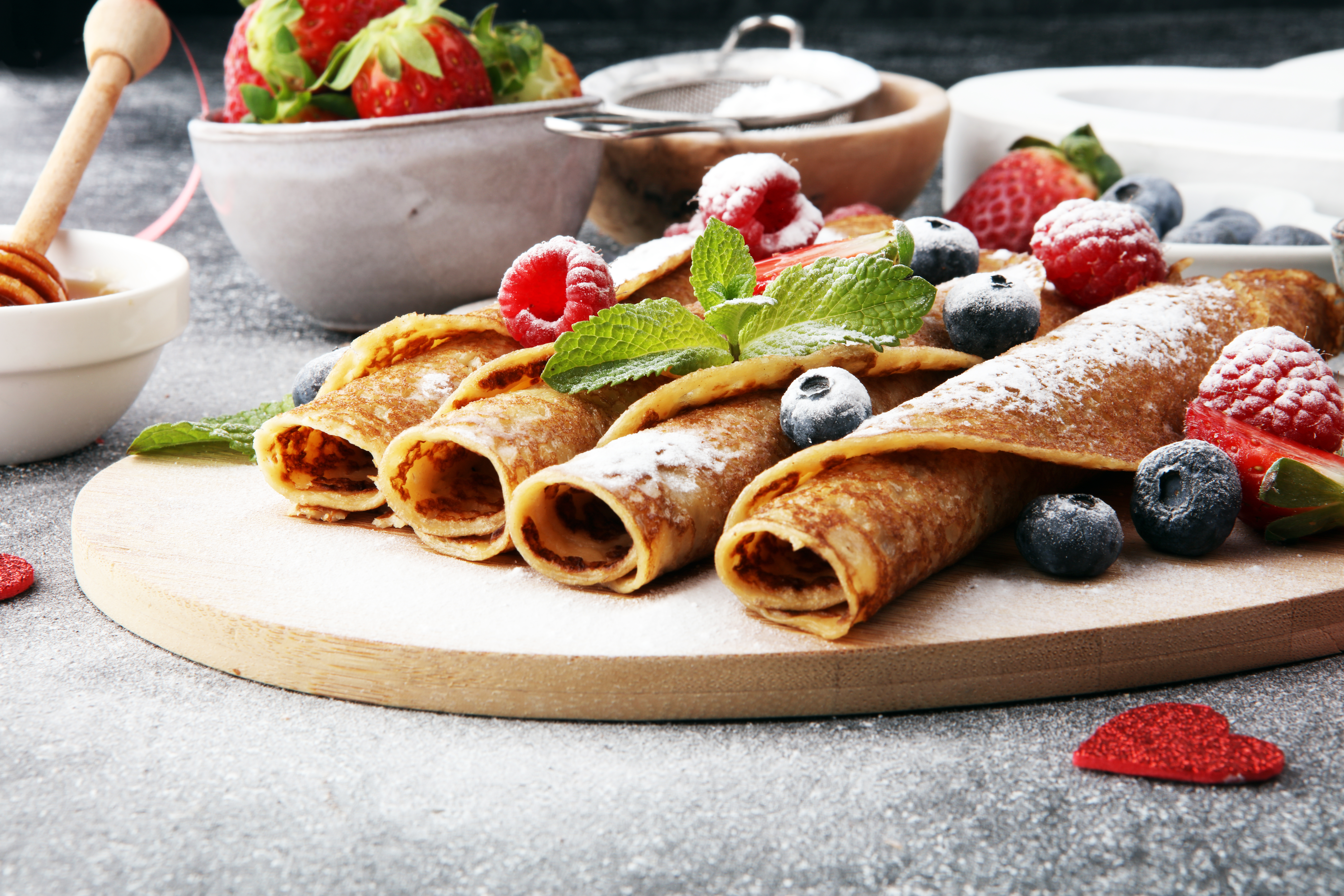 Pictured are crepes. SHUTTERSTOCK/ beats1