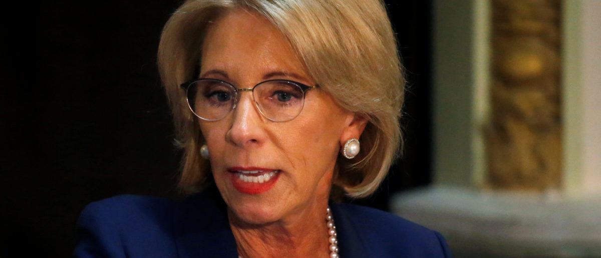 'I Know She's Stupid': Teacher Union Leader Calls On Betsy DeVos To Resign