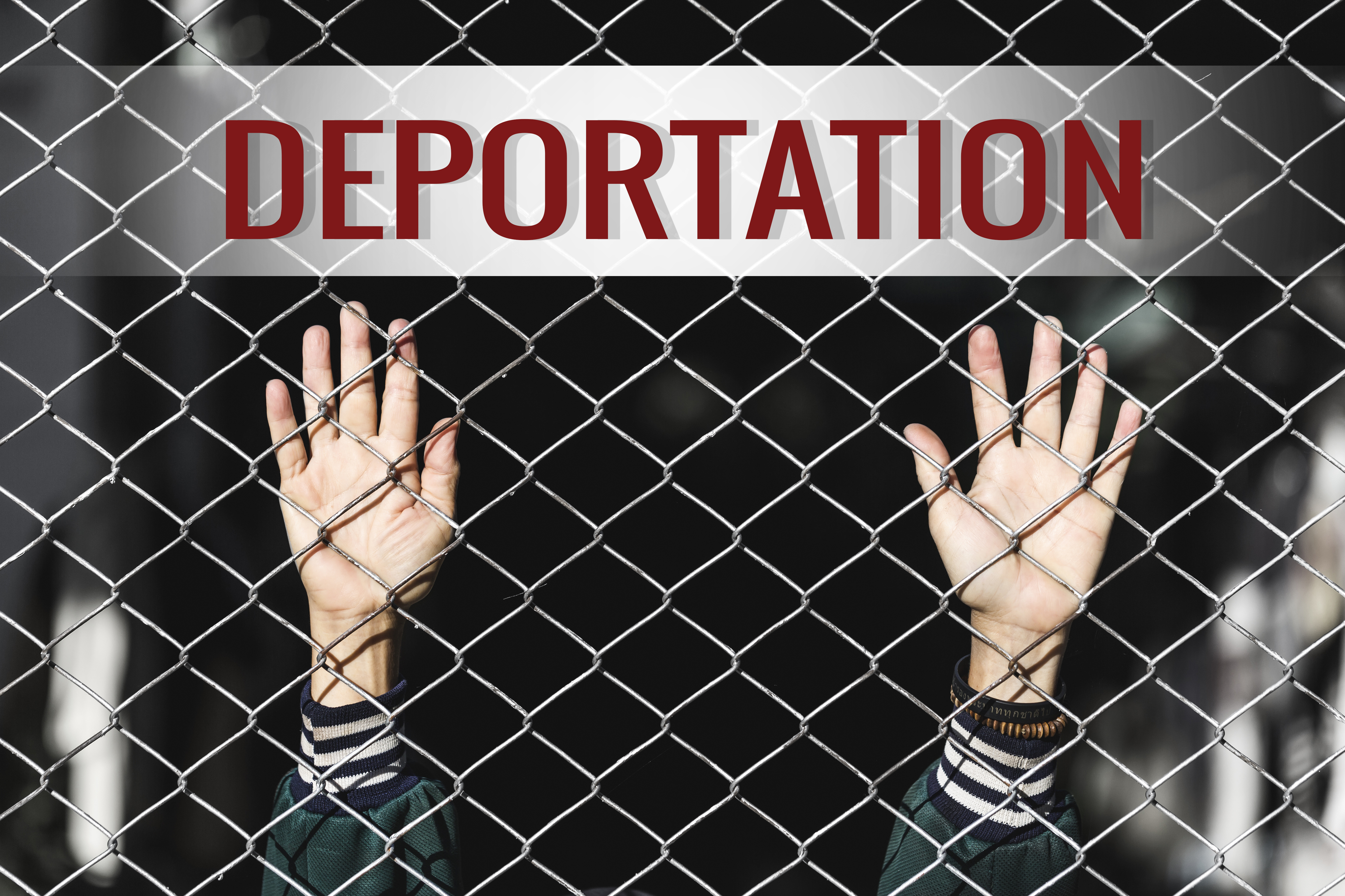 Deportation photo. Shutterstock