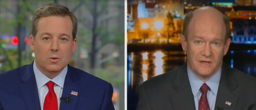 Ed Henry Stumps Chris Coons On Why Don Jr. Must Appear