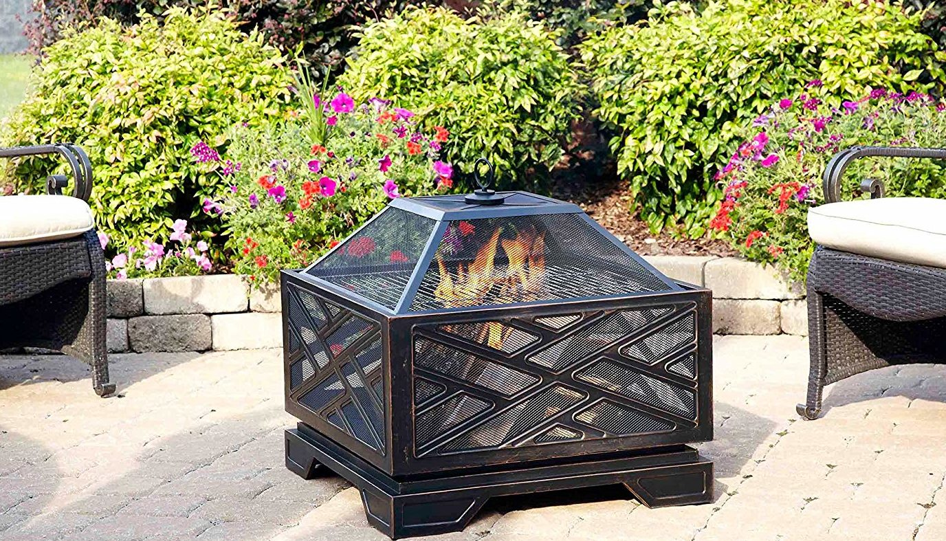 Today Only: This Fire Pit Is On Sale For Over $70 Off ...