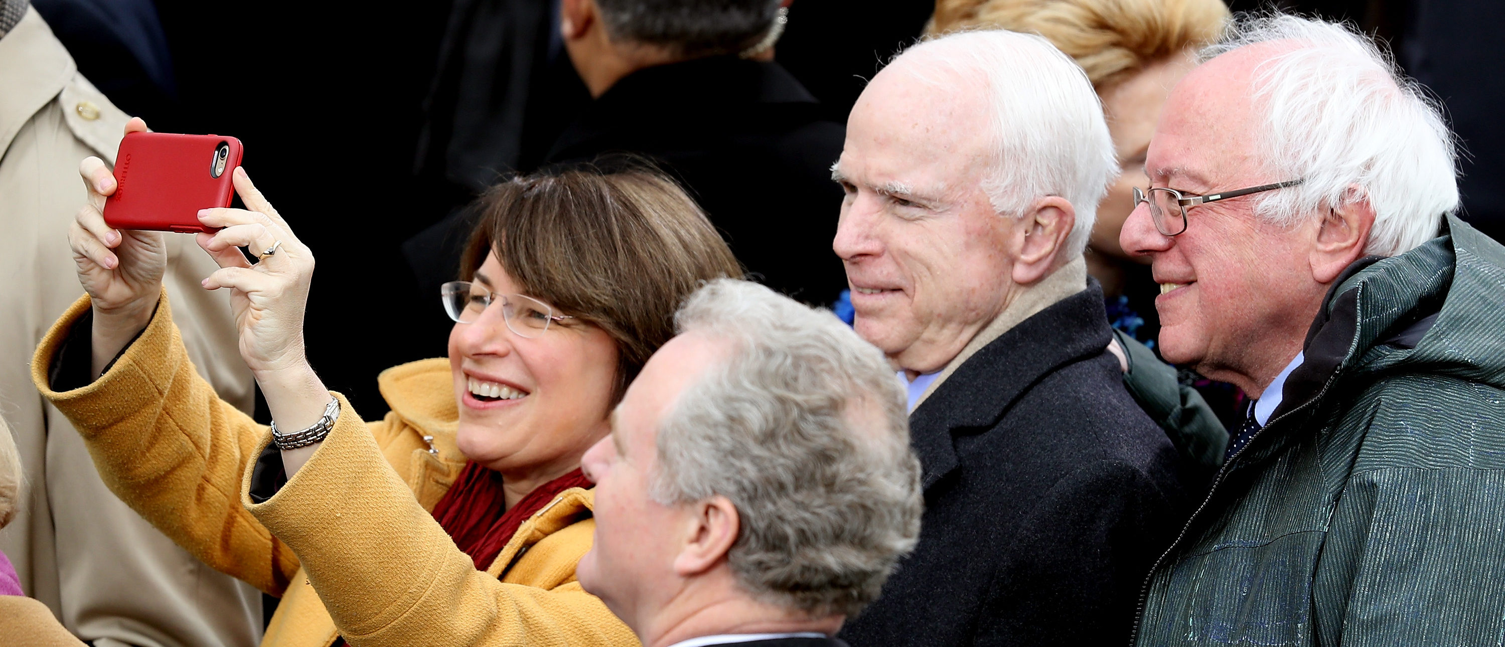 Here's What Klobuchar Said McCain 'Kept Reciting' During Trump's Inauguration