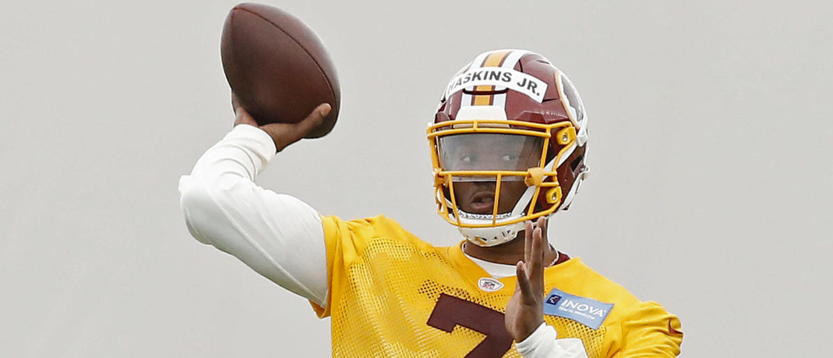 Case Keenum Takes The First QB Reps For The Redskins, Dwayne Haskins Goes Second