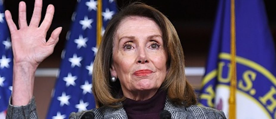 House Speaker Nancy Pelosi (D-CA), speaks during a weekly press conference at the US Capitol in Washington, DC on February 28, 2019. (Photo by MANDEL NGAN/AFP/Getty Images)