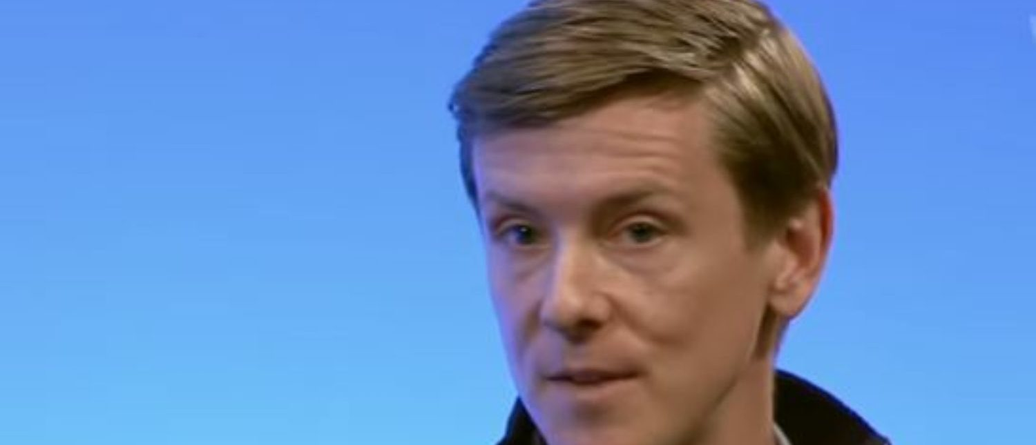 Facebook co-founder Chris Hughes talks about fighting inequality (YouTube screencap)