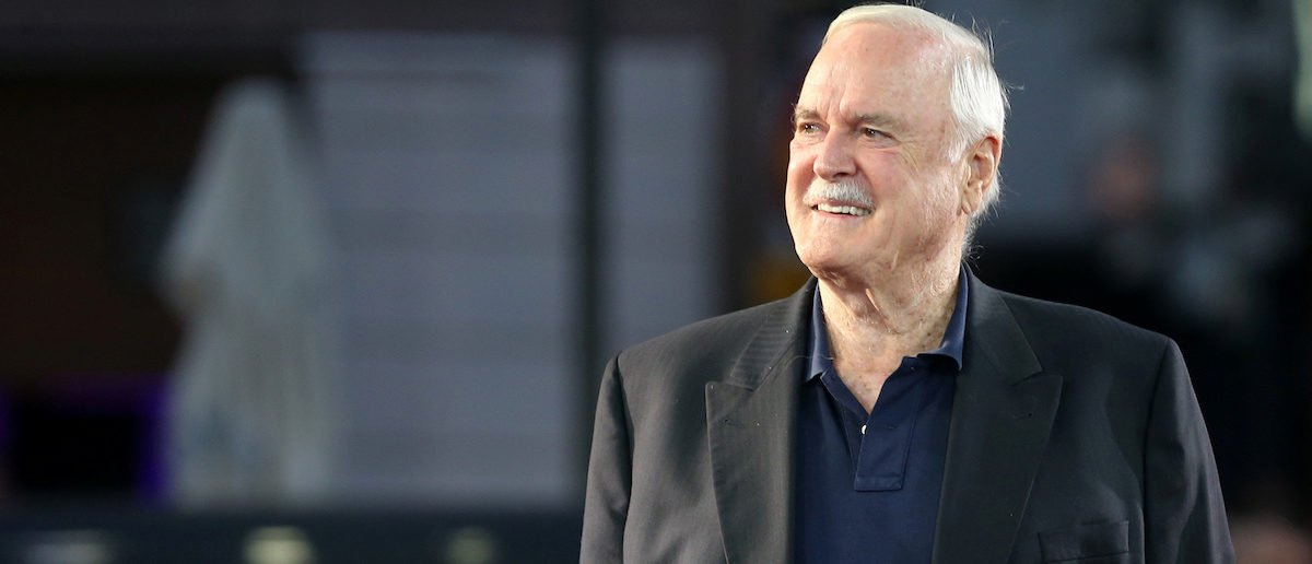 British Actor John Cleese Walks On The Red Carpet During The 23rd Sarajevo Film Festival In