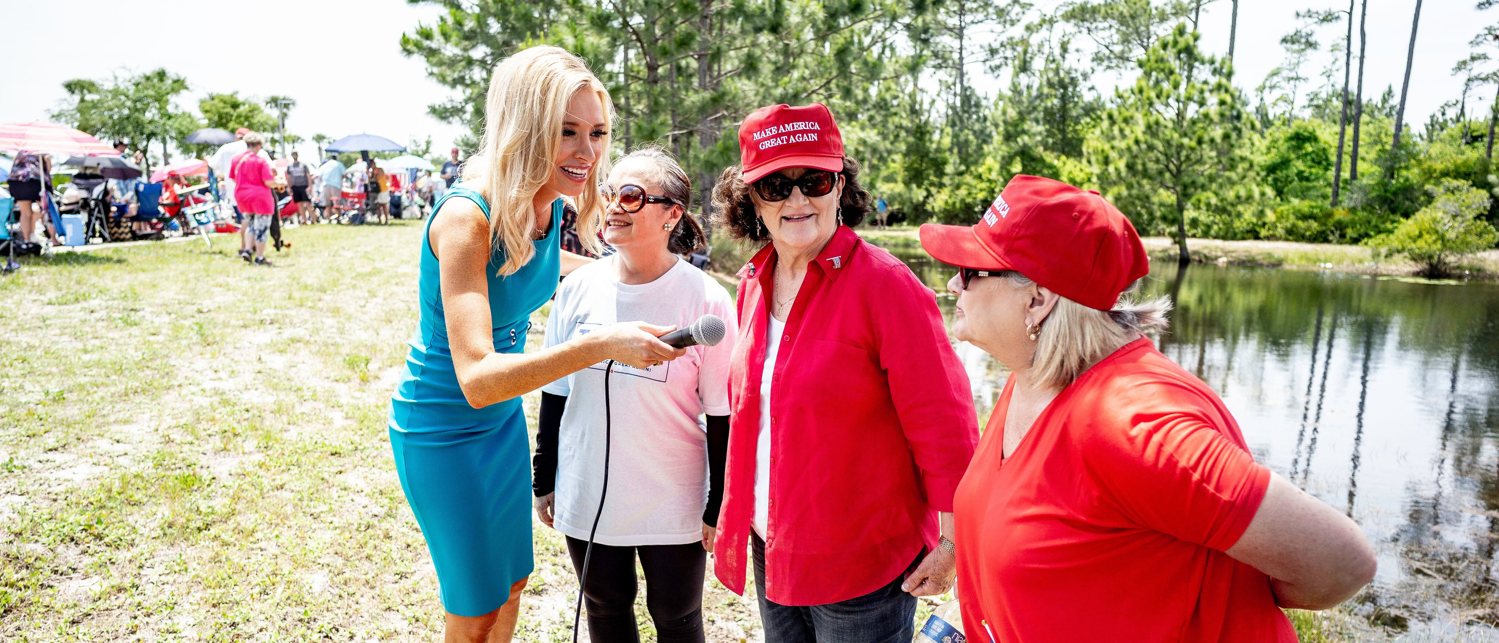 Kayleigh McEnany With Women For Trump In Panama City