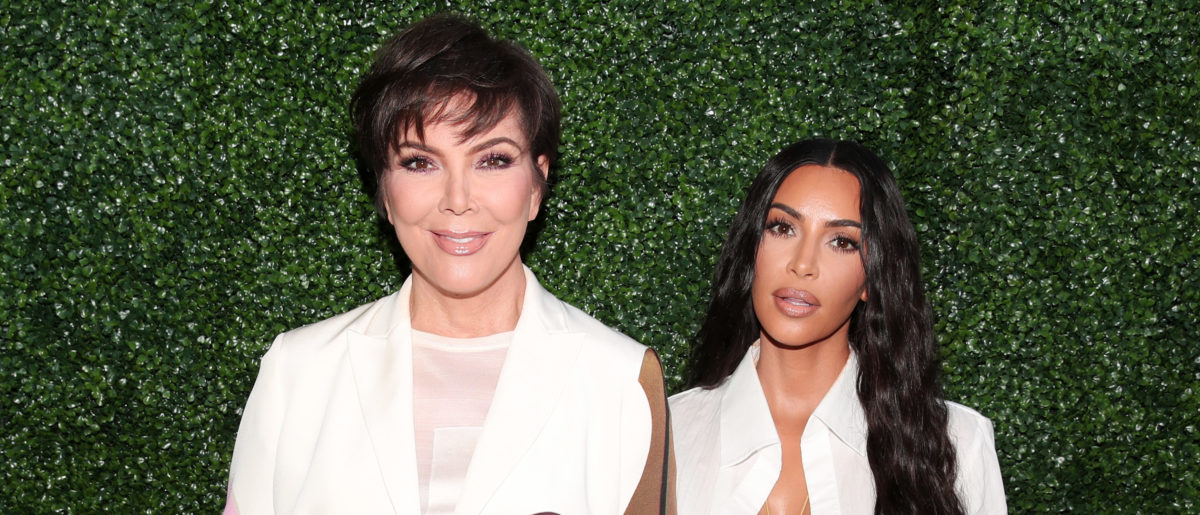 Kris Jenner (L) and Kim Kardashian West attend the BoF West Summit at Westfield Century City on June 18, 2018 in Century City, California. (Photo by Christopher Polk/Getty Images for The Business of Fashion)
