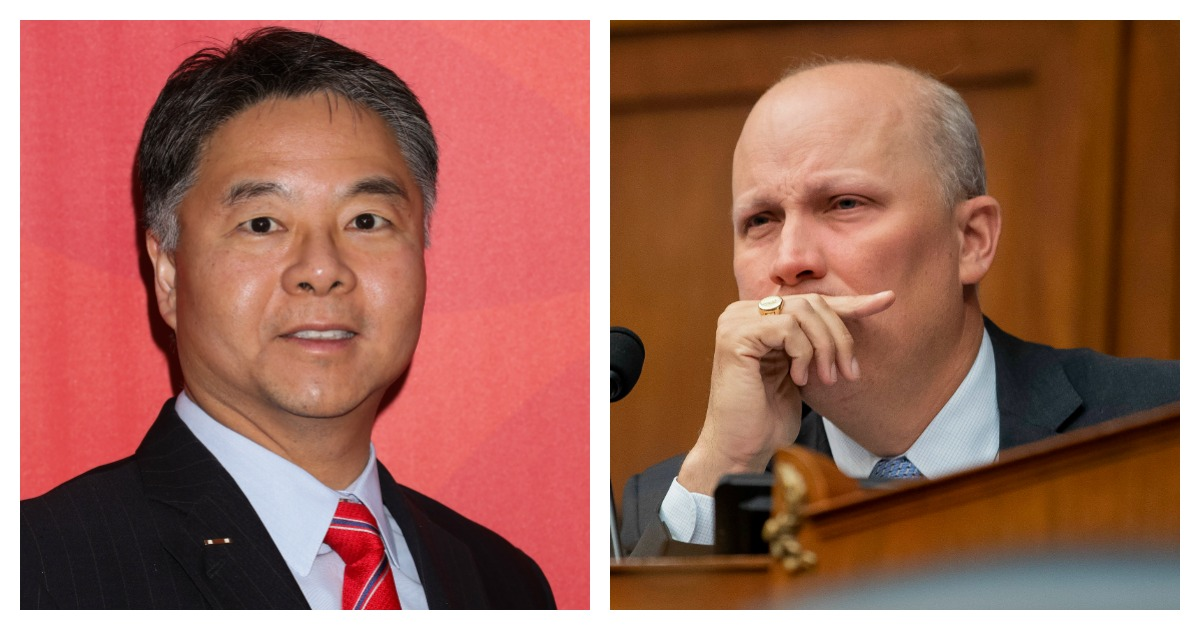 Chip Roy Responds After Ted Lieu Attacks Him Over Disaster Vote: 'We Think You Suck'