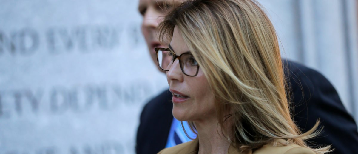 Lori Loughlin's Reportedly 'Incredibly Panicked' Following Felicity Huffman Prison Sentence