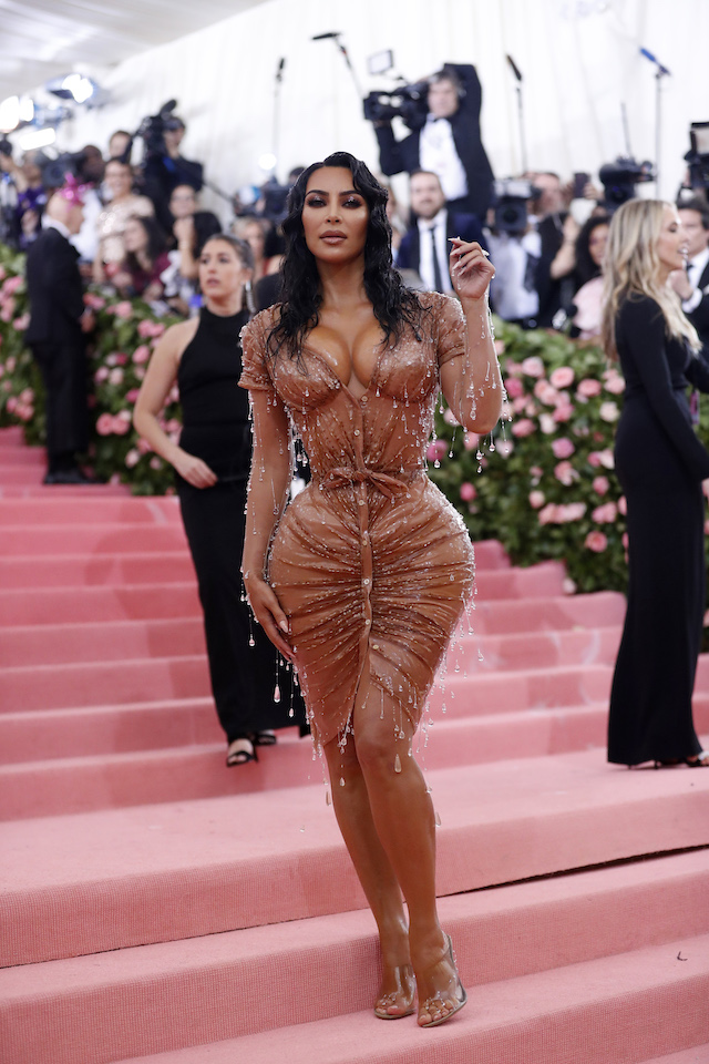 Metropolitan Museum of Art Costume Institute Gala - Met Gala-Camp: Notes on Fashion - Arrivals- New York City, U.S. - May 6, 2019 - Kim Kardashian West. REUTERS/Mario Anzuoni
