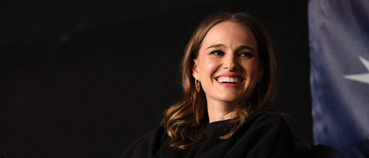 Natalie Portman speaks onstage during 'A Conversation With Natalie Portman' at the Screening of 'Vox Lux' at AFI FEST 2018 Presented By Audi at the Egyptian Theatre on November 9, 2018 in Hollywood, California. (Photo by Emma McIntyre/Getty Images for AFI)