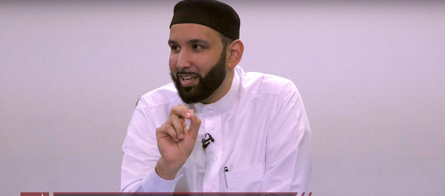 Imam Omar Suleiman (YouTube screenshot/Bayyinah Institute)