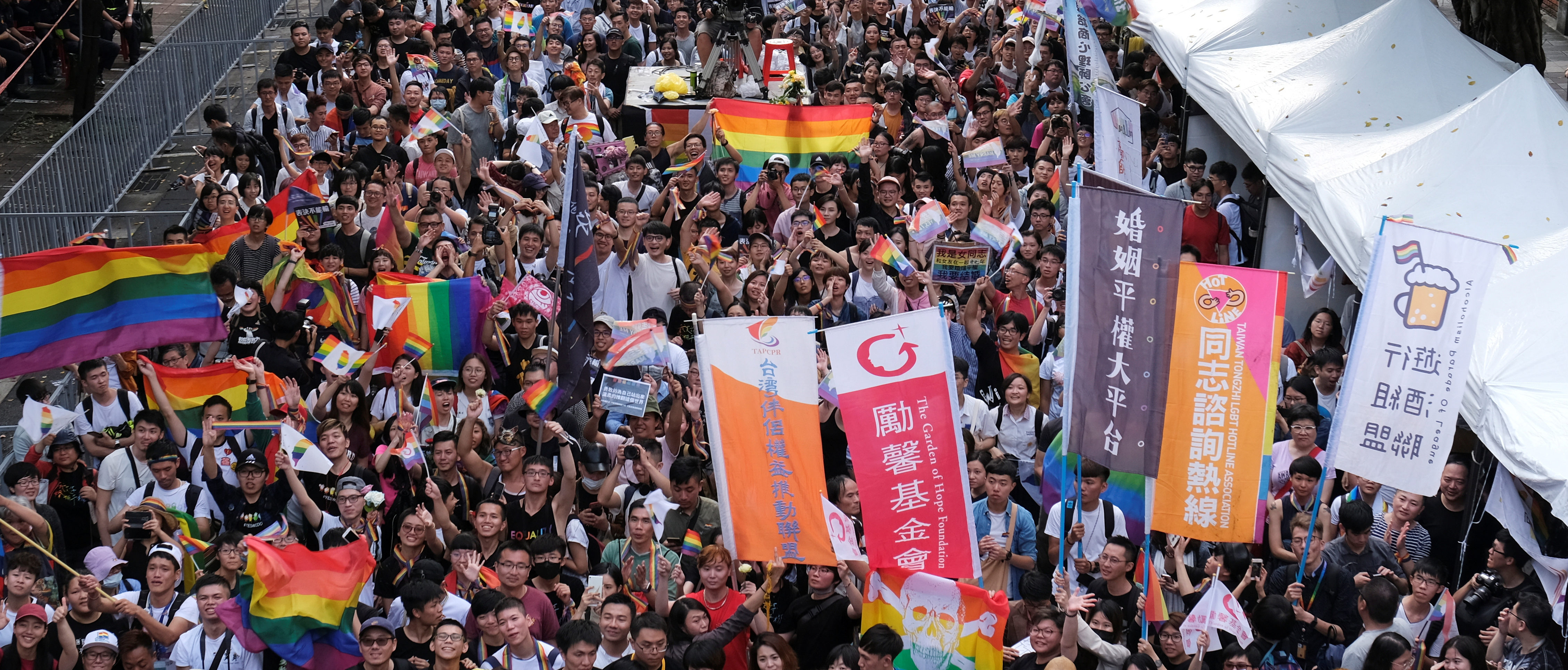 Taiwan First In Asia To Approve Same-Sex Marriage