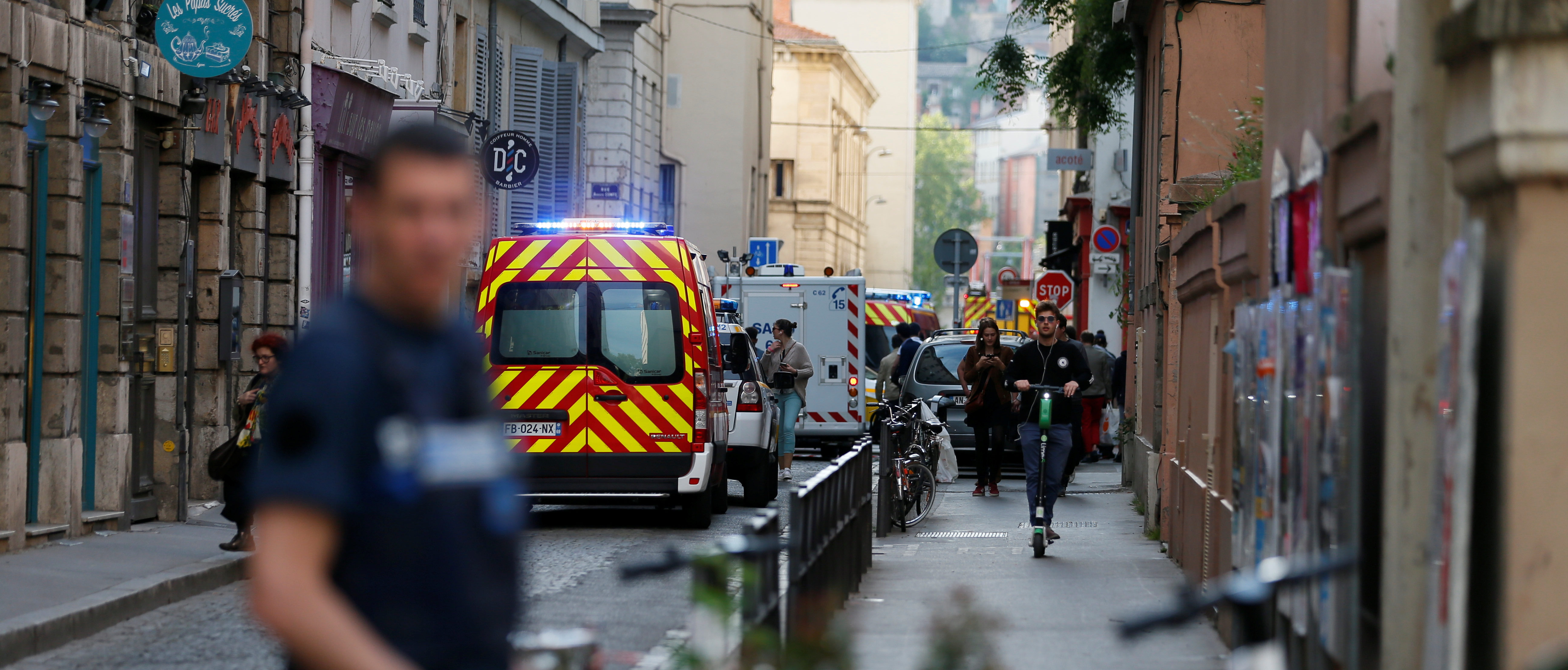 Package Explodes Injuring 8 In Lyon, France