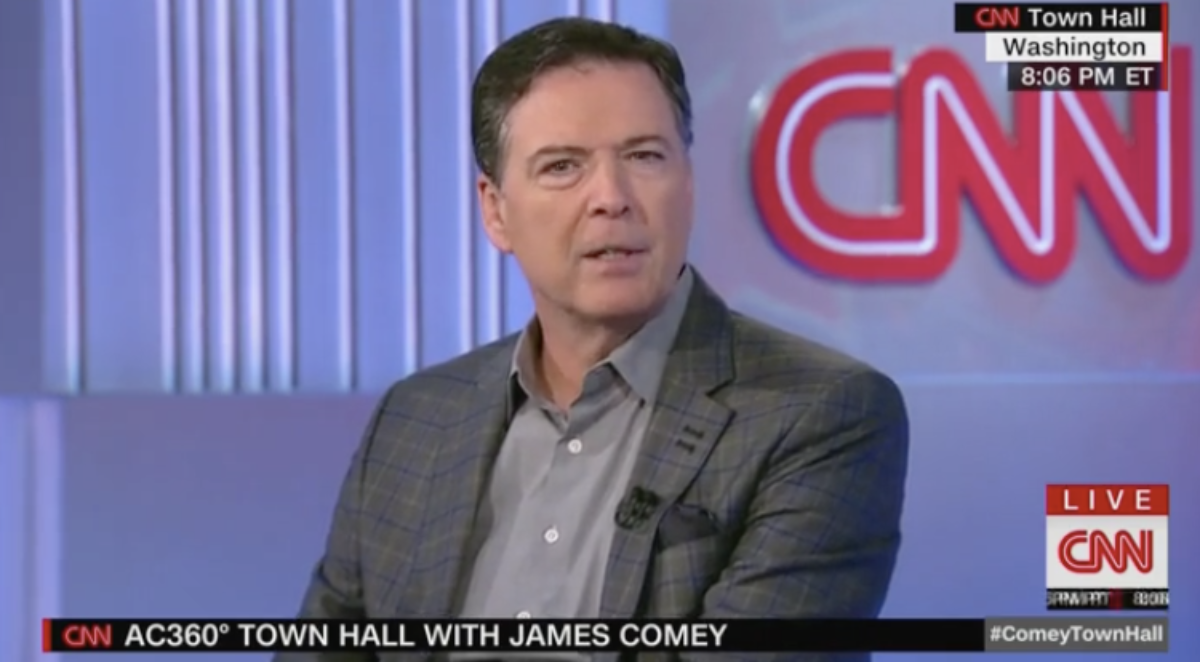 James Comey, former FBI Director, CNN town hall (5/9/2019)