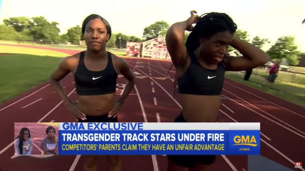 "YouTube/Public/ABC News -- ""Transgender track stars speak out as critics allege unfair advantage"""
