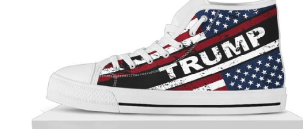 If you love this company's commitment to America, be sure to check out other products they have on sale (Photo via PrintedKicks)