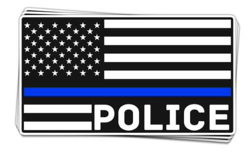 Show you support our boys in blue with this limited edition car decal!