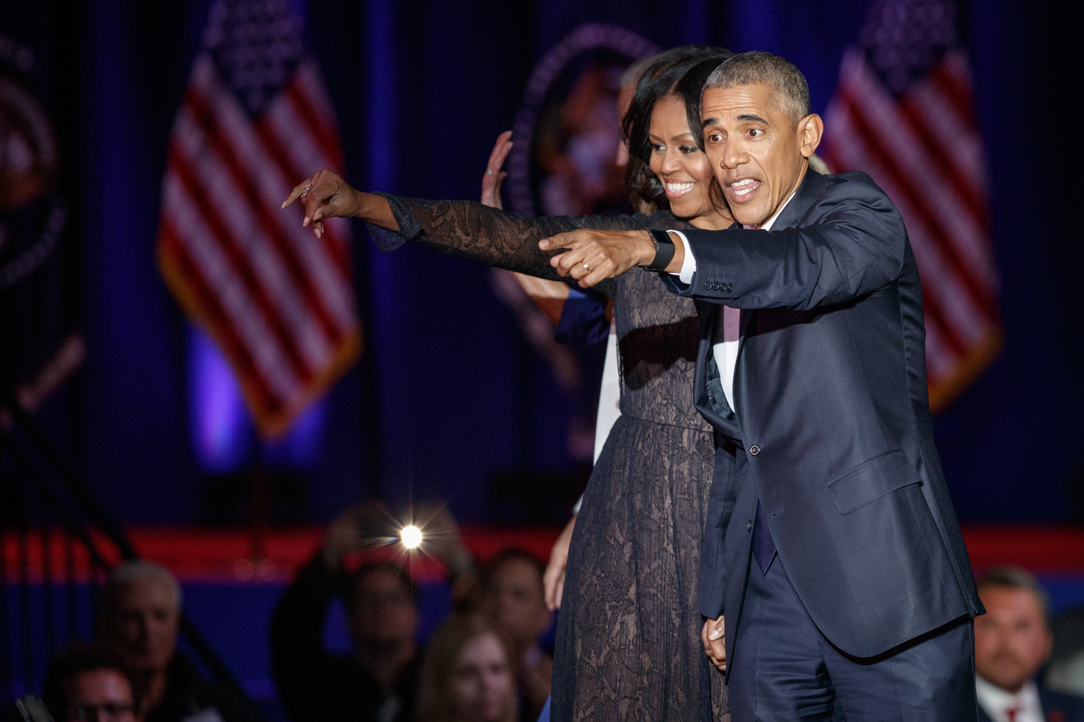 "Barack and Michelle Obama announced Tuesday the list of seven projects that they will create with Netflix using their new production company, ""Higher Ground Productions.""Shutterstock, John Gress Media Inc"