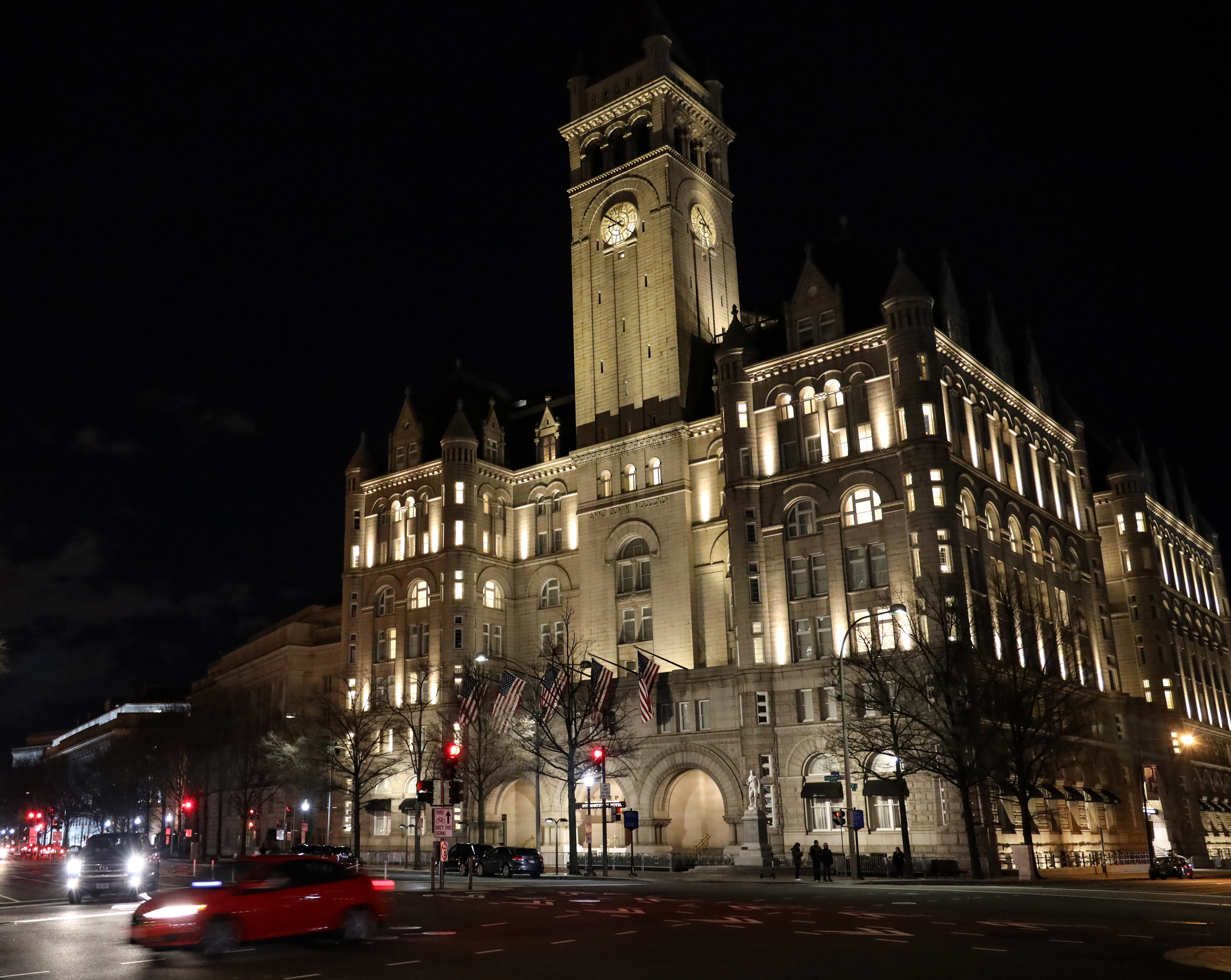 The Trump International Hotel in Washington, D.C. as seen on March 22, 2019. (Alex Wroblewski/Getty Images)