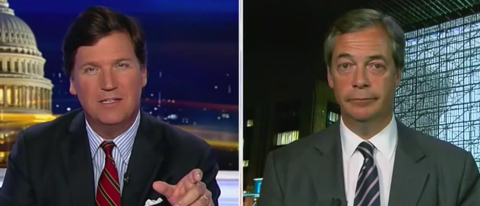 Nigel Farage Makes Tucker 'One Promise' That Could Rock British Politics To The Core