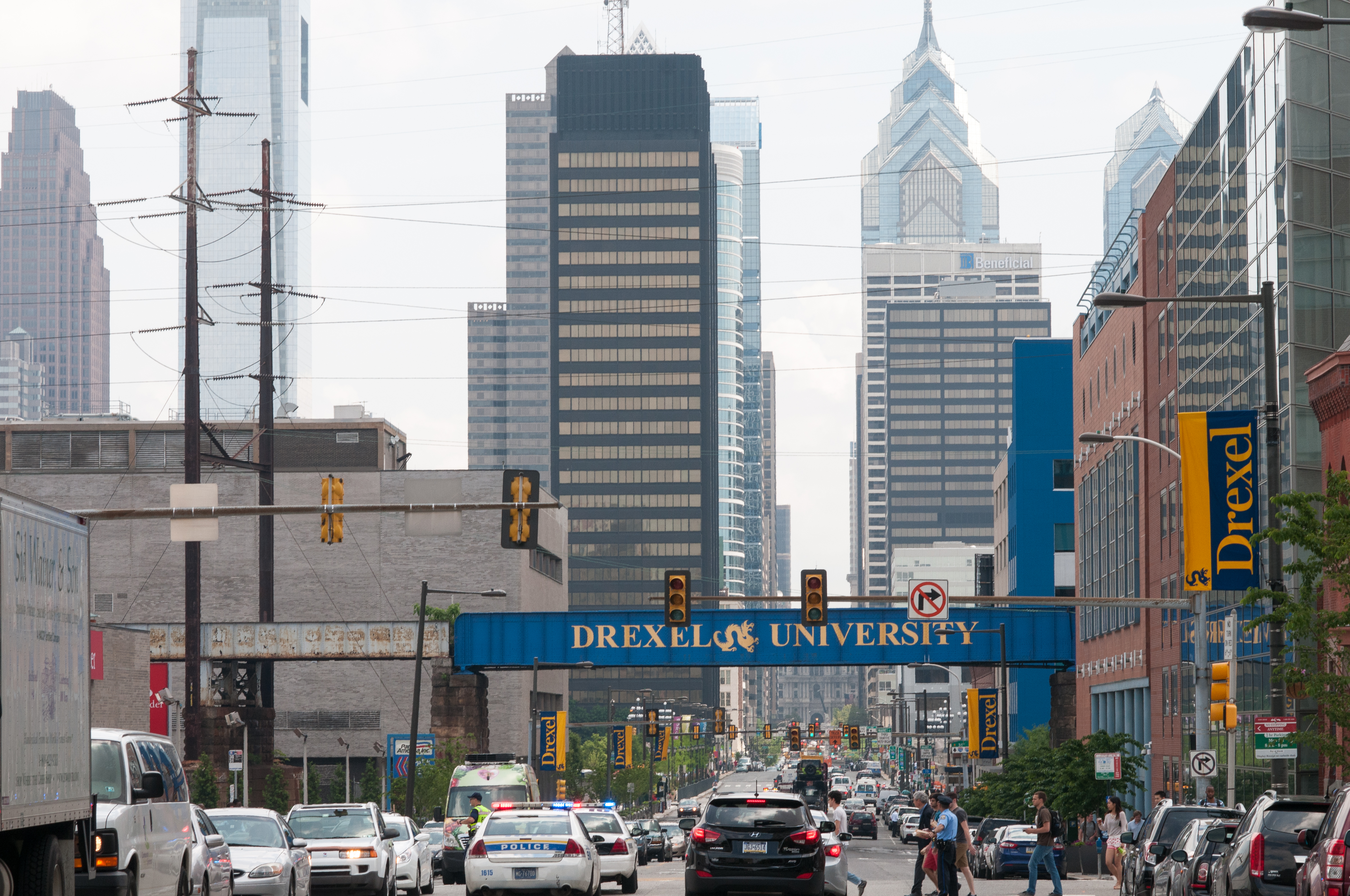 Drexel University Campus in the University City section of West Philadelphia June 13, 2014. Photo by Shutterstock.