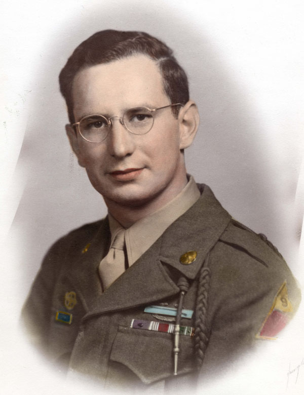 Wartime Portrait of Andy Andrews (Photo courtesy of D.H. Ramsey Library Special Collections, UNC Asheville 28804)
