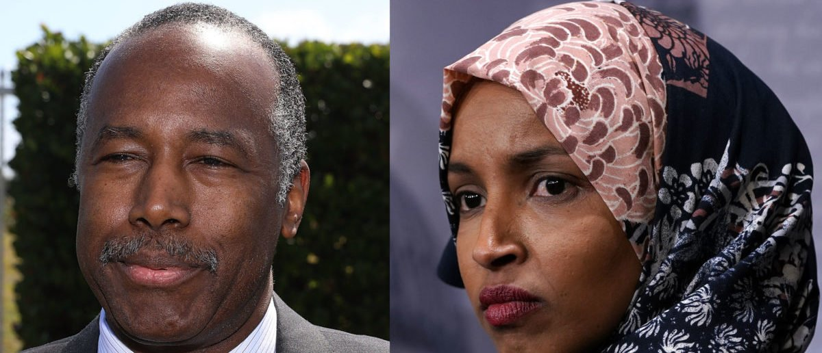 'I Know What It's Like': Ben Carson Fires Back At Ilhan Omar Over 'Sleep' Barb