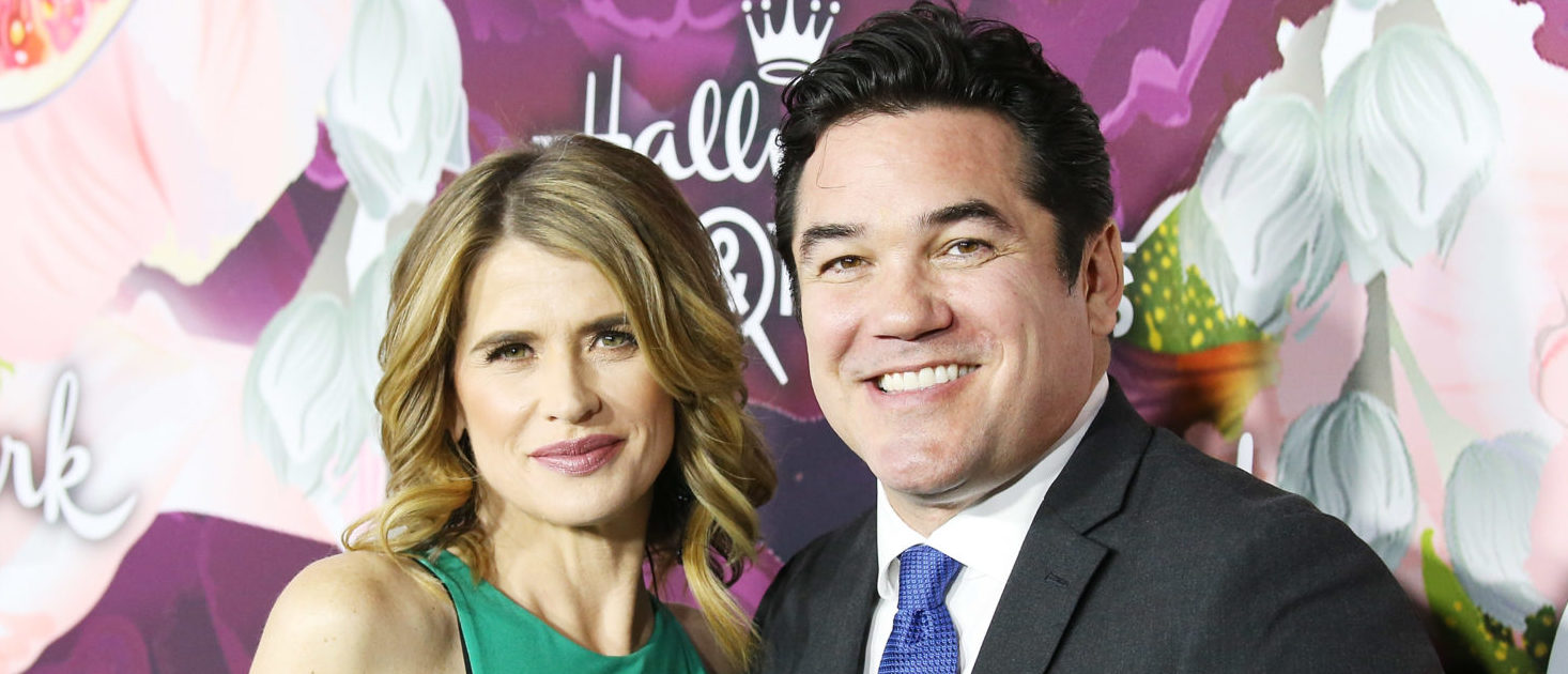 Kristy Swanson and Dean Cain arrive to the Hallmark Channel and Hallmark Movies and Mysteries Winter 2018 TCA Press Tour held at Tournament House on January 13, 2018 in Pasadena, California. Michael Tran/Getty Images