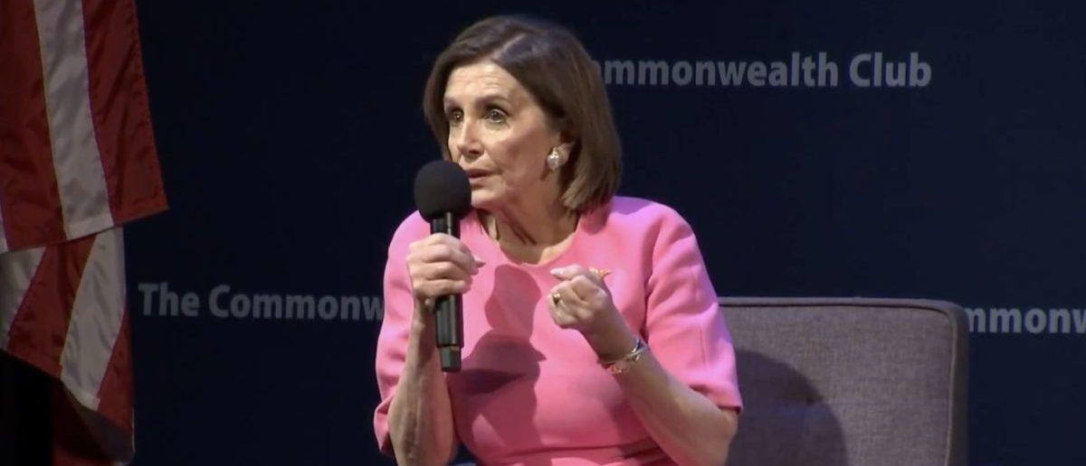 Speaker of the House Nancy Pelosi Video screenshot/PBS