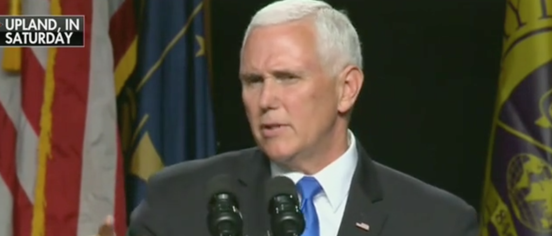 Mike Pence Gets Standing Ovation Despite Student Walkout At Commencement Speech