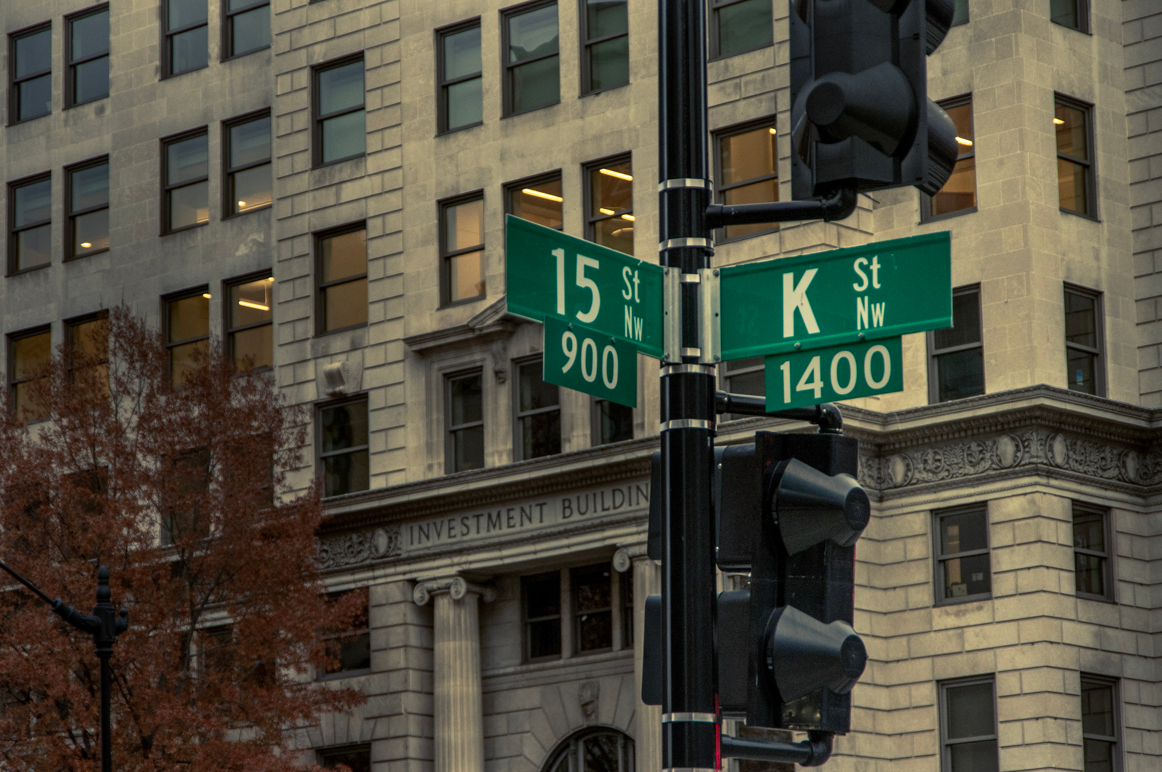K Street has become synonymous with lobbying. Shutterstock image via PhilipR